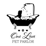 One Luv Pet Parlor logo