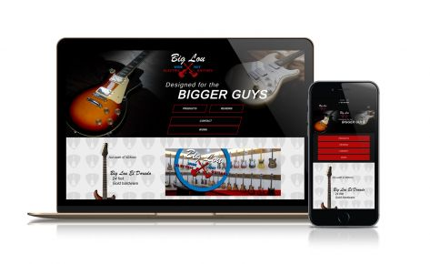 Big Lou Wide Nut Electric Guitars